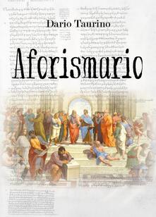 Aforismario - Dario Taurino - copertina