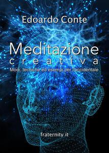 Meditazione creativa - Edoardo Conte - copertina