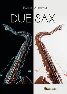 Due sax - Paolo Albertini - copertina