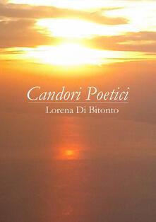 Candori poetici - Lorena Di Bitonto - copertina