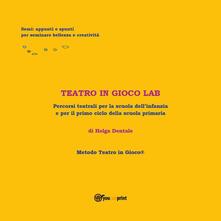 Teatro in gioco Lab - Helga Dentale - copertina