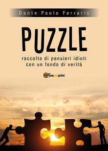 Puzzle - Dante Paolo Ferraris - copertina