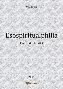 Esospiritualphilia - Vito Lipari - copertina