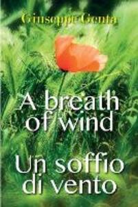 Un soffio di vento. A breath of wind - Giuseppe Genta - copertina