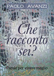 Che racconto sei? - Paolo Avanzi - copertina
