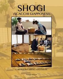 Shogi (scacchi giapponesi) - Calogero Abdel Salomon - copertina