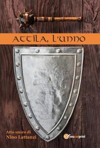 Attila, l'unno - Nino Lattanzi - copertina