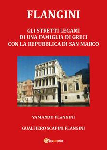 Flangini - Gualtiero Scapini - copertina