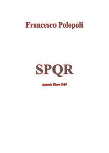 Agenda romana - Francesco Polopoli - copertina