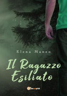 Il ragazzo esiliato - Elena Maneo - copertina