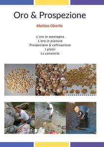 Oro & prospezione - Matteo Oberto - copertina
