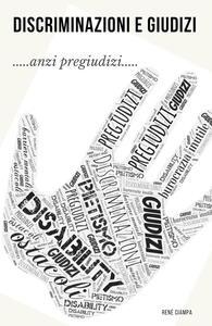 DeG. Discriminazioni e Giudizi - René Ciampa - copertina