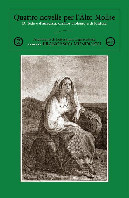 Quattro novelle per l'Alto Molise - Francesco Mendozzi - copertina
