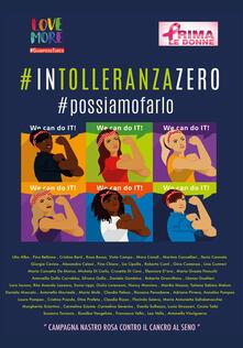 #IntolleranzaZero - copertina