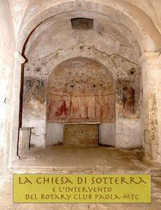 La chiesa di Sotterra - Giuseppe Perrotta - copertina