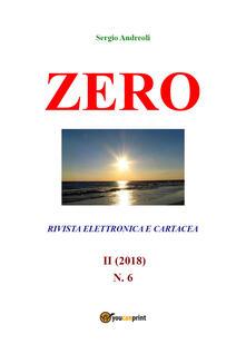 Zero. Vol. 6 - Sergio Andreoli - copertina