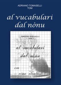 Al vucabulari dal nónu - Adriano Tomaselli - copertina