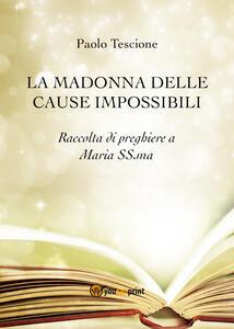 La Madonna delle cause impossibli - Paolo Tescione - copertina