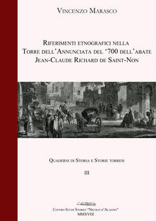 Riferimenti etnografici nella Torre dell'Annunciata del '700 dell'abate Jean-Claude Richard de Saint-Non - Vincenzo Marasco - copertina