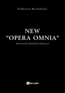 Opera omnia - Federico Bartolozzi - copertina