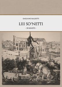 53 so'netti - Emiliano Baldetti - copertina