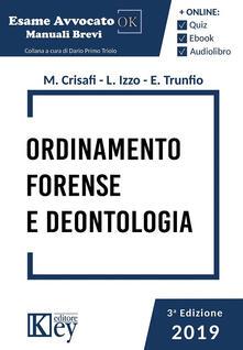 Ordinamento forense e deontologia.pdf