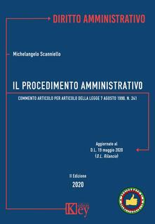 Daddyswing.es Il procedimento amministrativo. Commento articolo per articolo alla Legge 7 agosto 1990, n. 241 Image