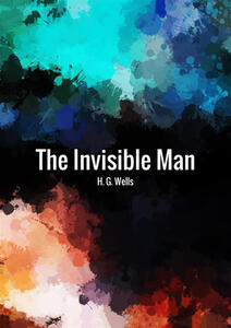 The invisible man - Herbert G. Wells - copertina