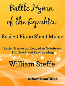 Battle Hymn of the Republic Easiest Piano Sheet Music