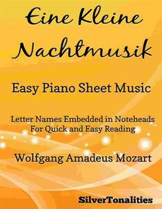 Eine Kleine Nachtmusik Easy Piano Sheet Music