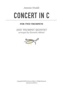 Antonio Vivaldi Concert in C for Two Trumpets and Trumpet Quintet