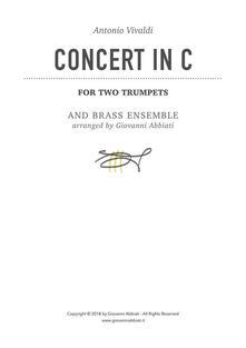 Antonio Vivaldi Concert in C for Two Trumpets and Brass Ensemble