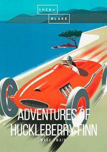 The adventures of Huckleberry Finn - Mark Twain - copertina