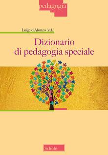 Dizionario di pedagogia speciale - copertina