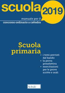 Cefalufilmfestival.it Manuale per il concorso ordinario a cattedra. 2019. Scuola primaria Image