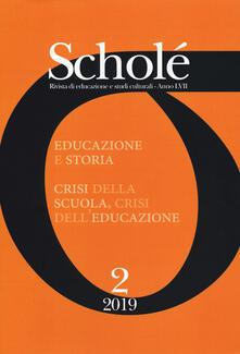 Winniearcher.com Scholé. Rivista di educazione e studi culturali (2019). Vol. 2 Image