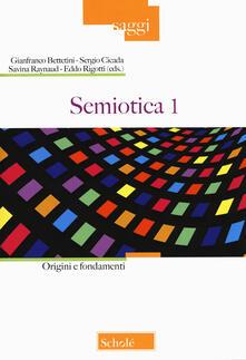 Voluntariadobaleares2014.es Semiotica. Vol. 1: Origini e fondamenti. Image