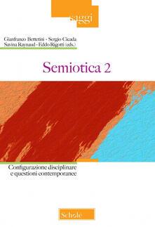 Voluntariadobaleares2014.es Semiotica. Vol. 2: Configurazione disciplinare e questioni contemporanee. Image