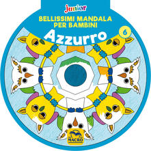 Antondemarirreguera.es Bellissimi mandala per bambini. Vol. 6: Azzurro. Image
