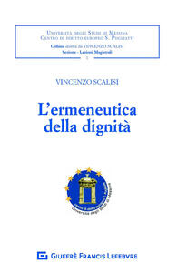 L' ermeneutica della dignità - Vincenzo Scalisi - copertina