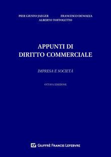 Listadelpopolo.it Appunti di diritto commerciale. Impresa e società Image