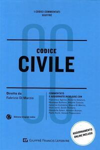 Codice civile. Commentato e aggiornato in dejure - copertina