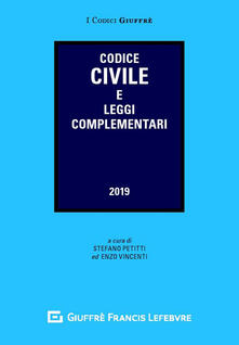 Codice civile e leggi complementari - copertina