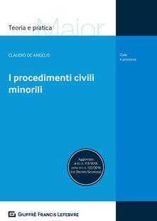 Fondazionesergioperlamusica.it I procedimenti civili minorili Image