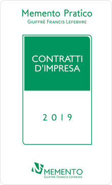 Memento contratti d'impresa 2019 - copertina