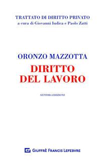 Diritto del lavoro - Oronzo Mazzotta - copertina