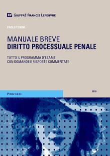 Filippodegasperi.it Diritto processuale penale Image