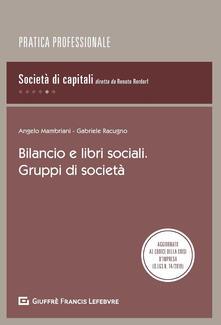 Camfeed.it Bilancio e libri sociali. Gruppi di società Image