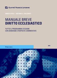 Diritto ecclesiastico. Tutto il programma desame con domande e risposte commentate.pdf