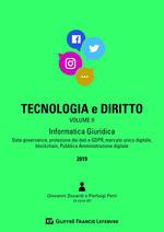 Tecnologia e diritto. Vol. 2: Informatica giuridica.